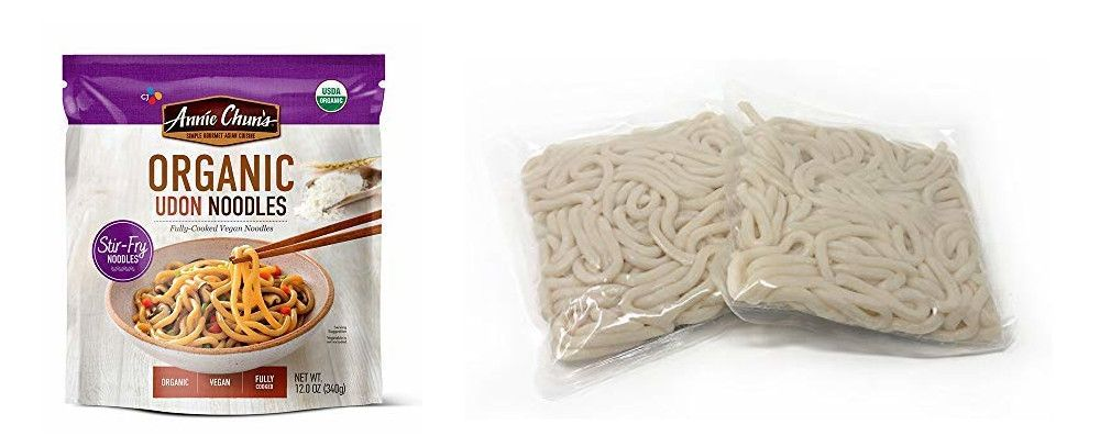 packed noodles are easy to find and already cooked