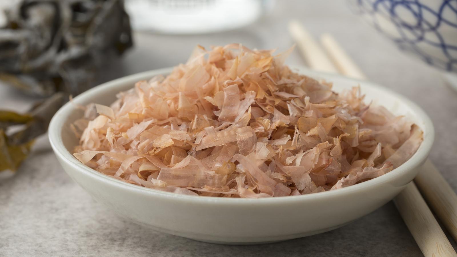 The magic ingredient for Yaki Udon, Japanese Bonito flakes