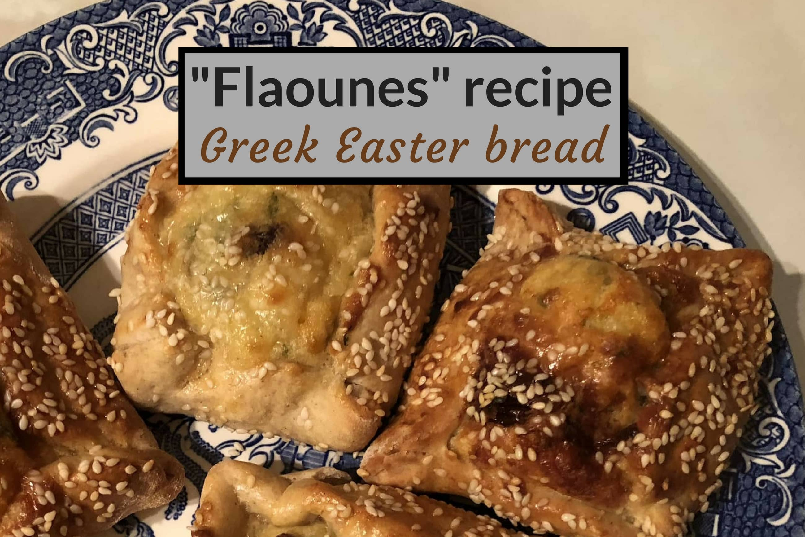 Flaounes recipe cover pic