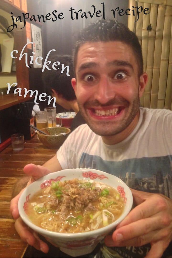 Japanese chicken ramen recipe