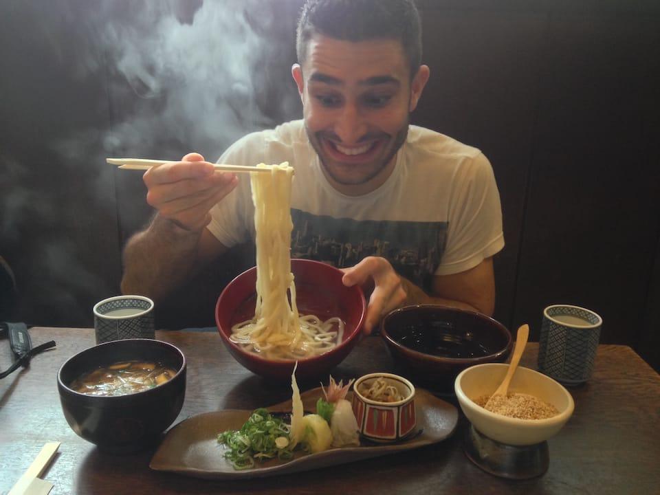 Should I slurp noodles in Japan udon stefan