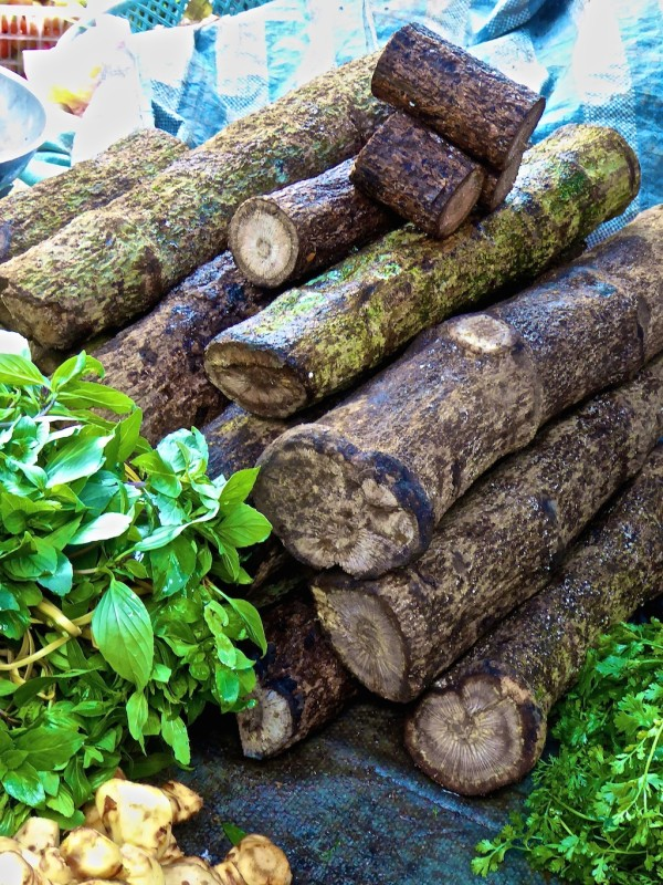 Spiced wood used for cooking