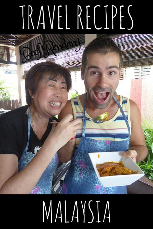 Try our beef rendang #travel #recipe from #Penang #Malaysia