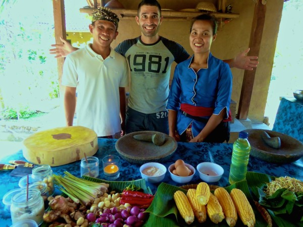Stefan Kadek Made cooking class in Ubud, Bali