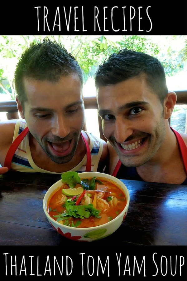 Tom Yam soup Thailand travel recipe