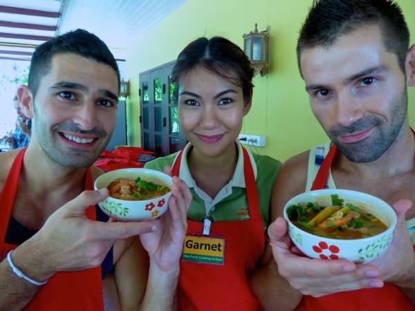 Cooking class Chiang Mai Thai tom yam soup