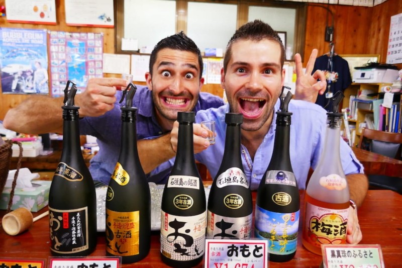 Sake one of our fav traditional drinks and food of Japan