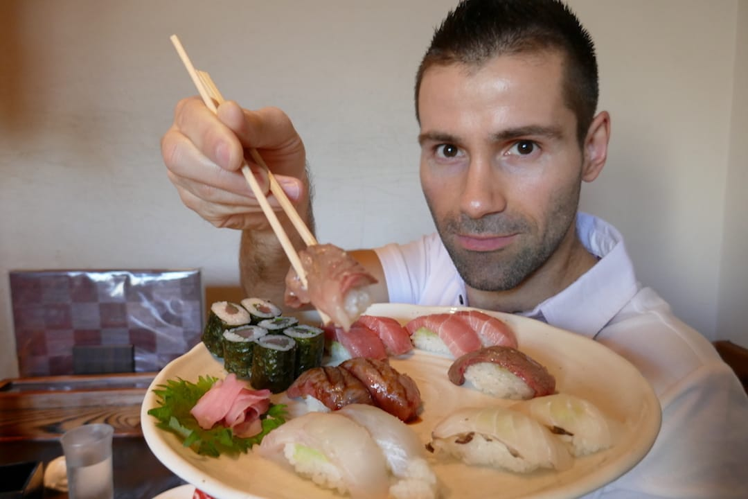 Sushi one of our favourite 10 traditional food of Japan