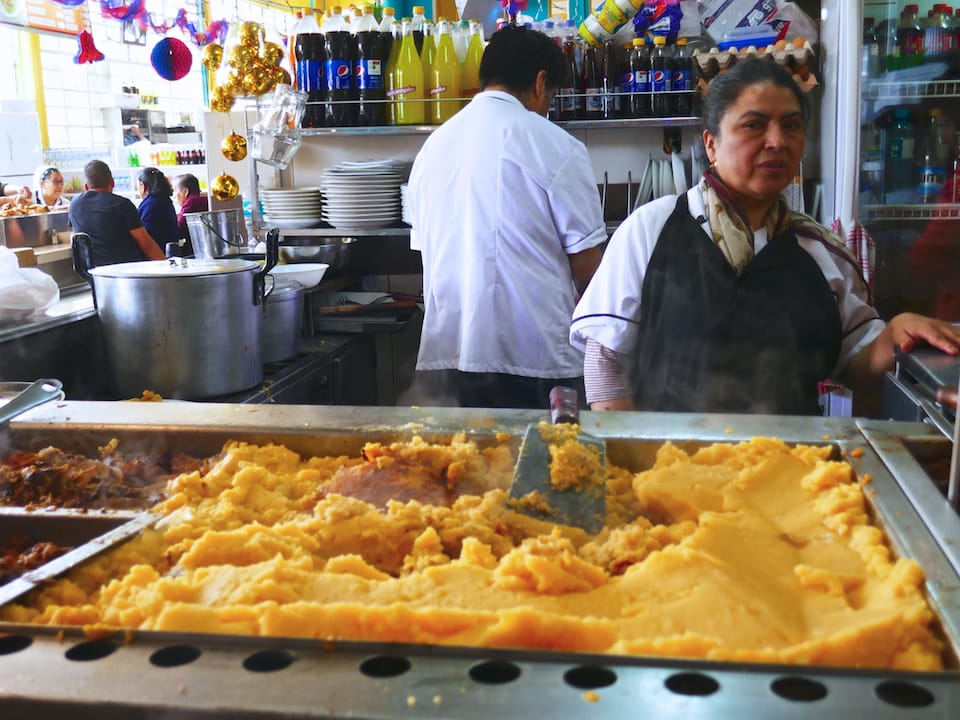 llapingachos famous foods ecuador