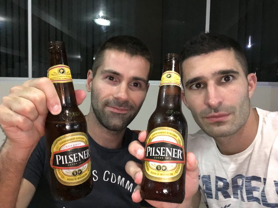 pilsener beer famous foods of Ecuador
