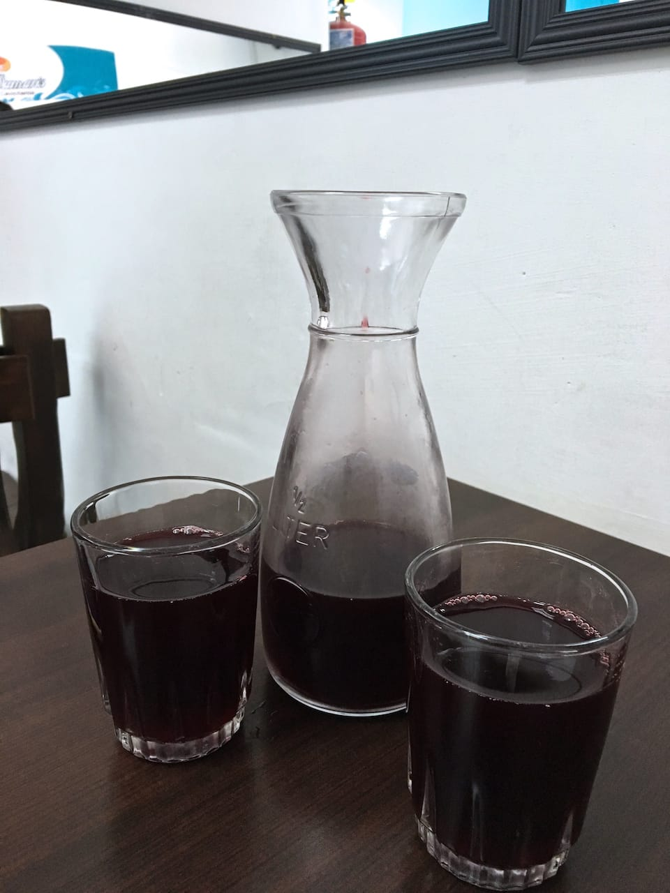 chicha morada one of the famous foods from peru