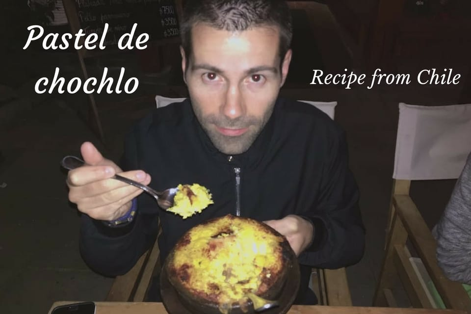 Recipe for Chilean pastel de choclo: beef and corn pie