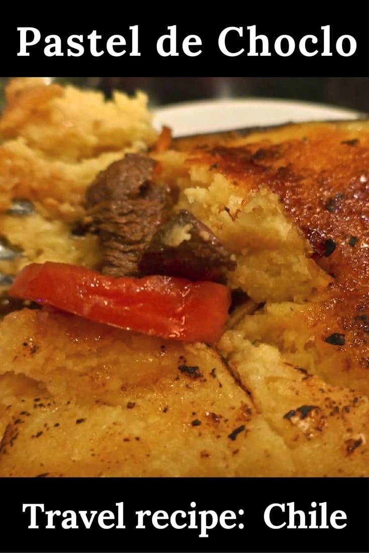 Recipe for Chilean pastel de choclo