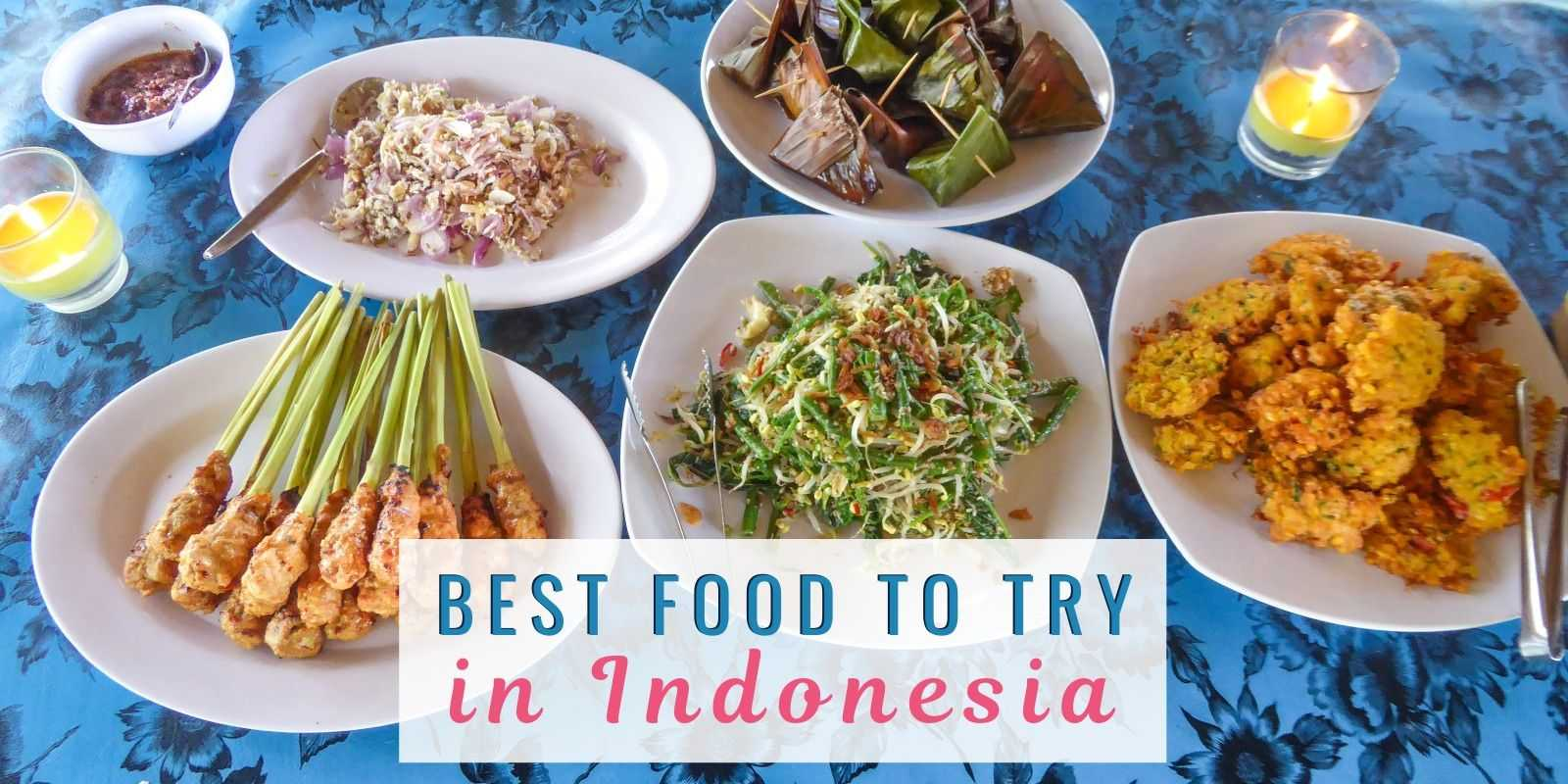 The most popular foods to try in Indonesia